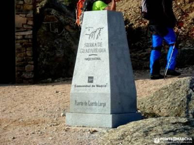 Collado Najarra-Hoya San Blas; viajes de aventura montes vascos sierra madrid agencia de viaje